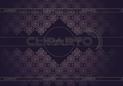 Vintage invitation card | Stock Vector Graphics |ID 3070444