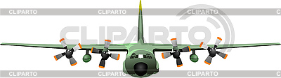 Freight military aircraft | Stock Vector Graphics |ID 3079589