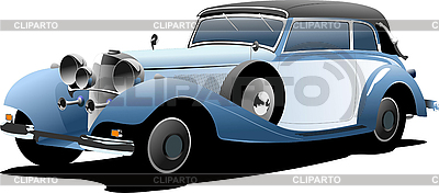 Old car | Stock Vector Graphics |ID 3079790