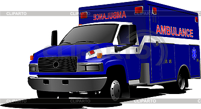 Modern ambulance van | Stock Vector Graphics |ID 3080032