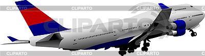 Passenger Airplane | Stock Vector Graphics |ID 3080060