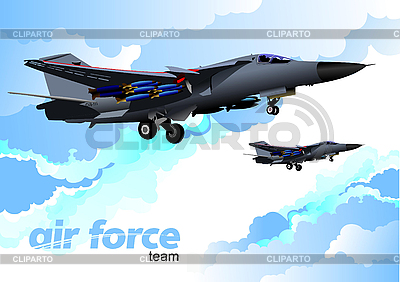 Air force team | Stock Vector Graphics |ID 3080075