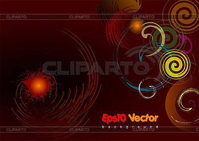 Abstract brown background | Stock Vector Graphics |ID 3080097