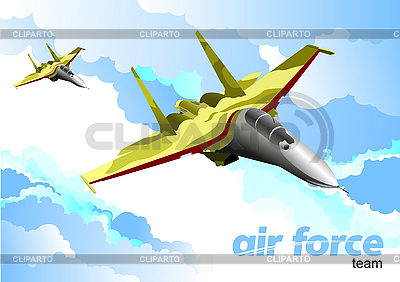 Air force team | Stock Vector Graphics |ID 3105808