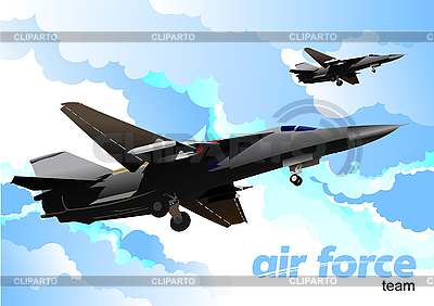 Air force team | Stock Vector Graphics |ID 3105812