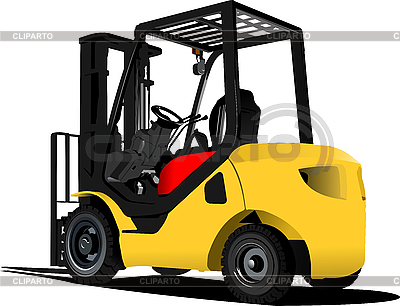 Lift truck. Forklift | Stock Vector Graphics |ID 3173827