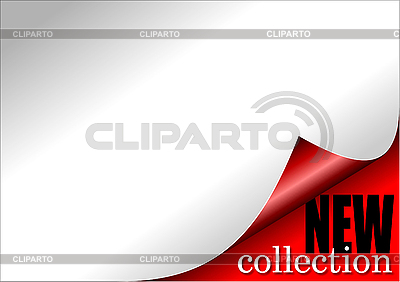 Paper with curl - new collection   Stock Vector Graphics  ID 3181344