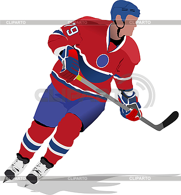 Ice hockey player | Stock Vector Graphics |ID 3186159