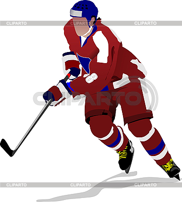 Ice hockey player | Stock Vector Graphics |ID 3186292