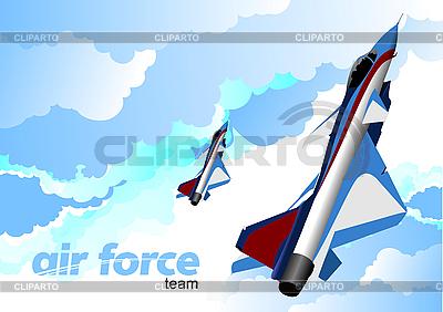 Air force team. | Klipart wektorowy |ID 3211415