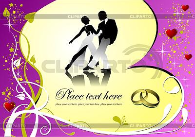 발렌타인 인사말 카드   벡터 클립 아트  ID 3212223