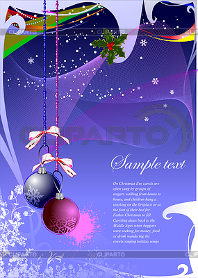 Abstract Christmas background | Stock Vector Graphics |ID 3222459