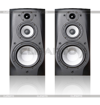 Speakers   High resolution stock photo  ID 3048501