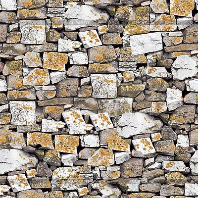 无缝石头墙背景 | 高分辨率照片 |ID 3048506