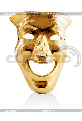 Golden mask | High resolution stock illustration |ID 3049252