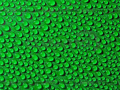 Zielone krople wody   Foto stockowe wysokiej rozdzielczości  ID 3049371