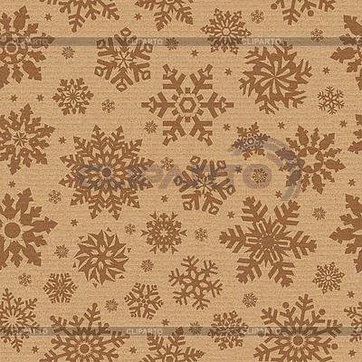 Nahtloses Muster mit Schneeflocken | Foto mit hoher Auflösung |ID 3049528