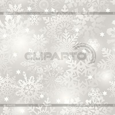 Snowflake bez szwu tła | Klipart wektorowy |ID 3082890