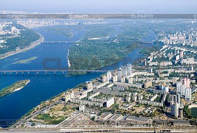 키예프 시내 - 공중보기 | 높은 해상도 사진 |ID 3350049