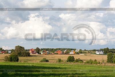 Rural houses | Foto stockowe wysokiej rozdzielczości |ID 3050685