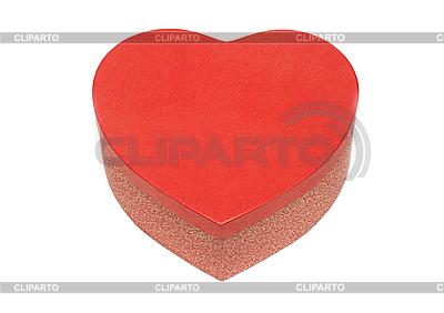 Geschenk-Box in Herz-Form | Foto mit hoher Auflösung |ID 3050703