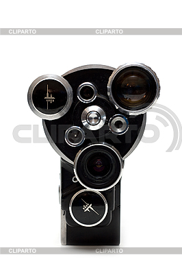 Stare kamery filmowe 16 mm z trzema obiektywami | Foto stockowe wysokiej rozdzielczości |ID 3050802