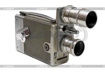 Stare filmu z kamery 16 mm z dwoma obiektywami | Foto stockowe wysokiej rozdzielczości |ID 3050804