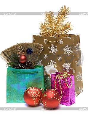 Подарки и новогодние украшения | Фото большого размера |ID 3050807