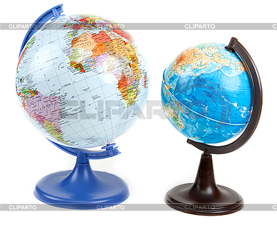 Two globes   높은 해상도 사진  ID 3060301