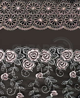 Collage lace with pattern in the manner of flower   High resolution stock photo  ID 3060394