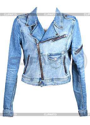 Jeans chaqueta con cremallera | Foto de alta resolución |ID 3066319
