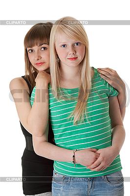 청바지에 두 여자 | 높은 해상도 사진 |ID 3066392
