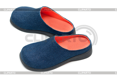 Pair baby footwear with orange insole | High resolution stock photo |ID 3307928