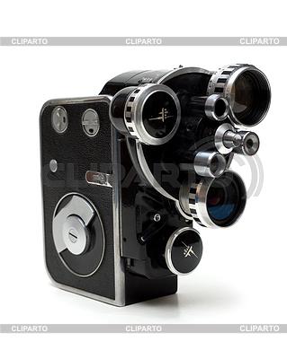 Stare kamery filmowe 16 mm z trzema obiektywami | Foto stockowe wysokiej rozdzielczości |ID 3308059