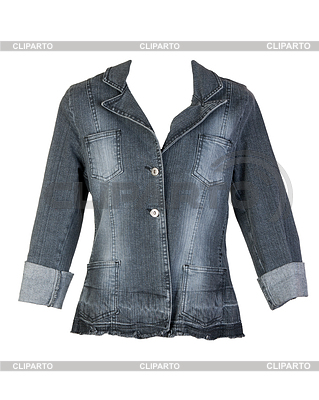 Gray jeans jacket   High resolution stock photo  ID 3336373