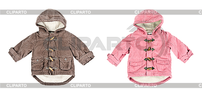 A collage made up of two corduroy jackets, warm on | High resolution stock photo |ID 3336676