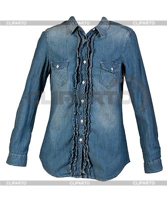 Blue jean shirt | High resolution stock photo |ID 3336953