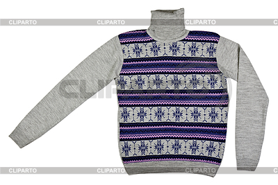 Sweater with pattern | High resolution stock photo |ID 3337228