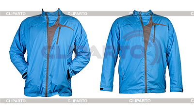 A collage of two blue sports jacket | High resolution stock photo |ID 3337386