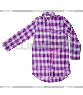 Purple plaid shirt | High resolution stock photo |ID 3344550
