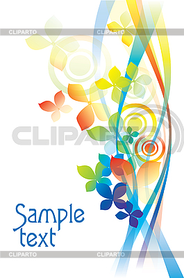 Abstract flower background  | Stock Vector Graphics |ID 3050908