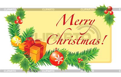 Christmas card   Stock Vector Graphics  ID 3052068