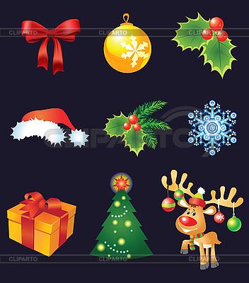 Christmas set | Klipart wektorowy |ID 3052072