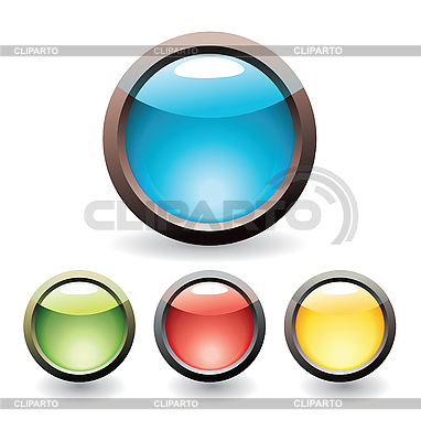 Set of buttons | Stock Vector Graphics |ID 3055714