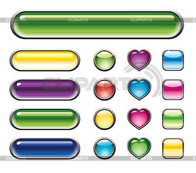 Set of buttons | Stock Vector Graphics |ID 3055720