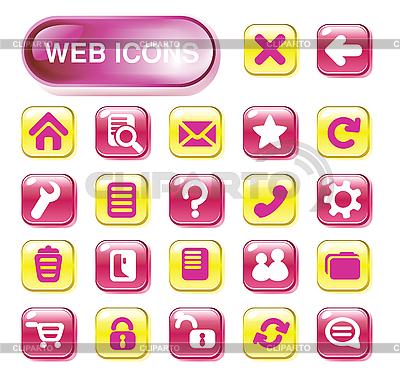 Web icon set   Stock Vector Graphics  ID 3055802