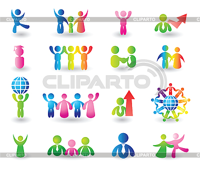 Set of people icons | Stock Vector Graphics |ID 3055820