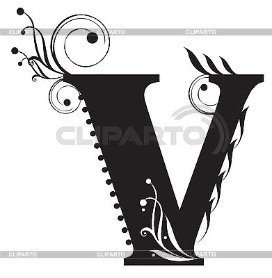 Buchstabe V | Stock Vektorgrafik |ID 3075621