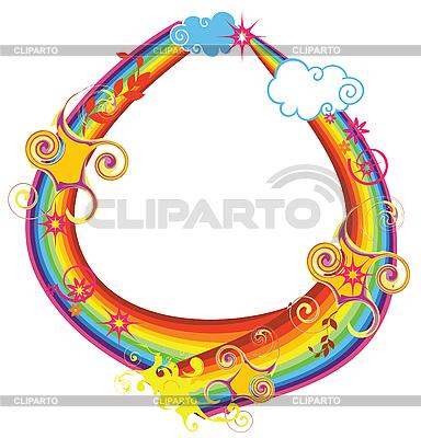 Vector Rainbow Letter For Design