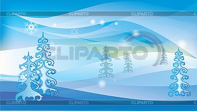 Winter landscape   Stock Vector Graphics  ID 3097000